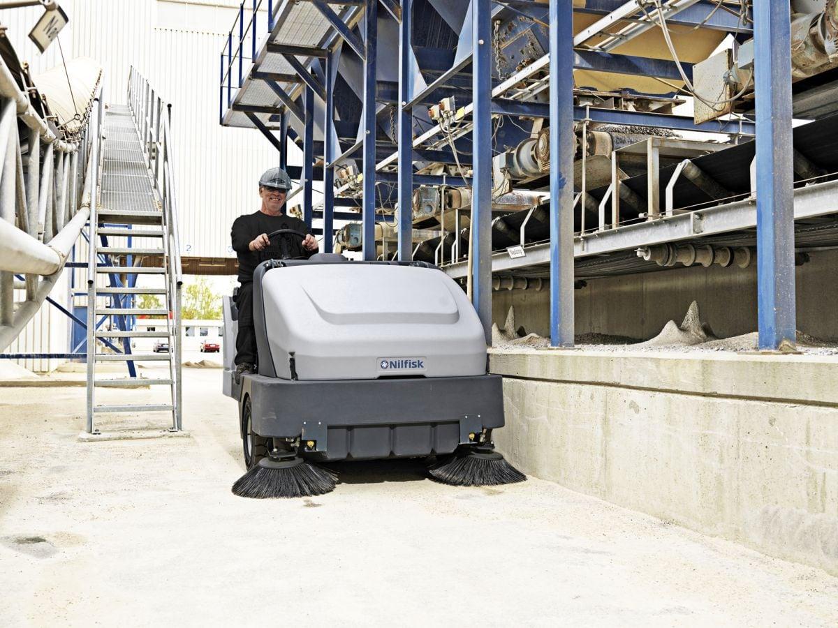 veegmachine sweeper sr 1601 d3 hd